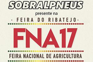 Sobralpneus presente na Feira Nacional de Agricultura em Santarém
